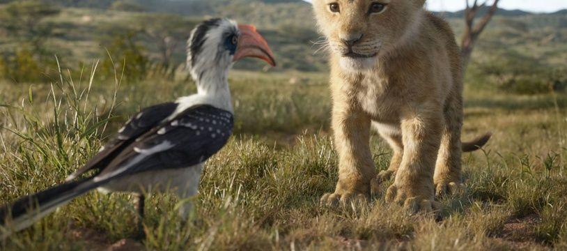 Image extraite du remake du «Roi Lion».
