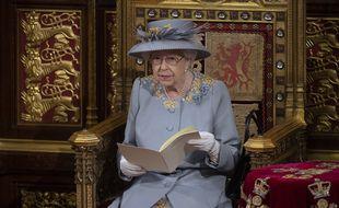 La reine Elizabeth II à la chambre des Lords