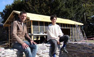 Nicolas Bon, de La Basse cour, et Eva Lozano, du Jardin des Mille pas, envisagent d'ouvrir leur guinguette le 19 juin à Rennes.