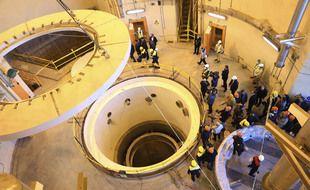 Le site nucléaire de Arak, en Iran.