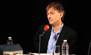 Gilles Verdez sur RTL, en 2010