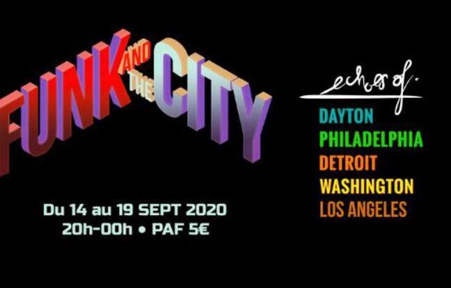Visuel officiel du FUnk & the City de septembre 2020