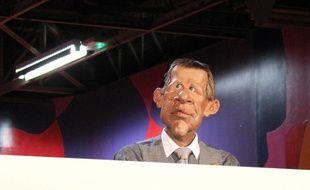 PPD, la célèbre marionnette des «Guignols de l'info», le 6 octobre 2012.