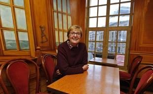 Nicole Baudrin, candidate de Lutte Ouvrière pour les élections municipales à Lille.