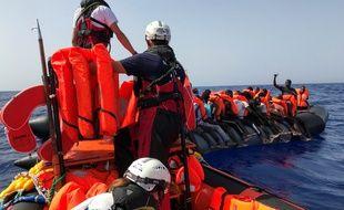 L'Ocean Viking, le bateau affrété par SOS Méditerranée et MSF a secouru 132 personnes ces trois derniers jours