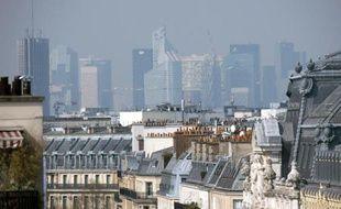 La pollution à Paris le 27 mars 2014
