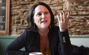 Johanna Rolland, maire PS de Nantes et candidate à sa propre succession.