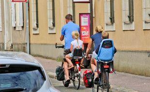 Objectif du gouvernement : 9 % de déplacements faits à vélo.