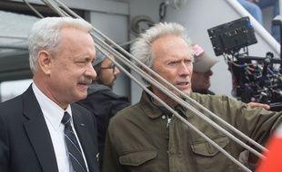 Tom Hanks et Clint Eastwood sur le tournage de