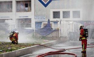 Les pompiers sont intervenus boulevard du Capitaine Gèze.