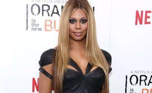 Laverne Cox, le 15 mai 2014, à New York.