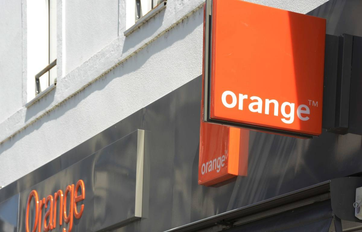 Une boutique Orange. –  JAUBERT/SIPA