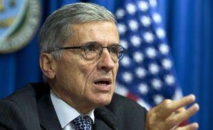 Le président de la FCC, Tom Wheeler, le 8 octobre 2014.