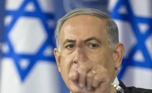 Le Premier ministre Benjamin Netanyahu le 20 août 2014 à Tel Aviv