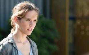 Lorie Pester dans «Demain nous appartient» sur TF1.