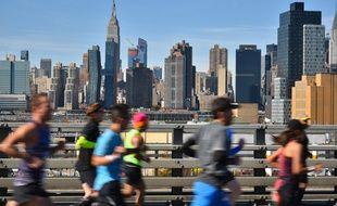 Parmi les milliers de participants au marathon de New York, une seule octogénaire, originaire de Metz. Illustration
