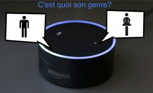Alexa d'Amazon. Illustration