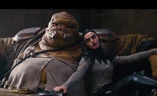 Deux personnages du prochain Star Wars.