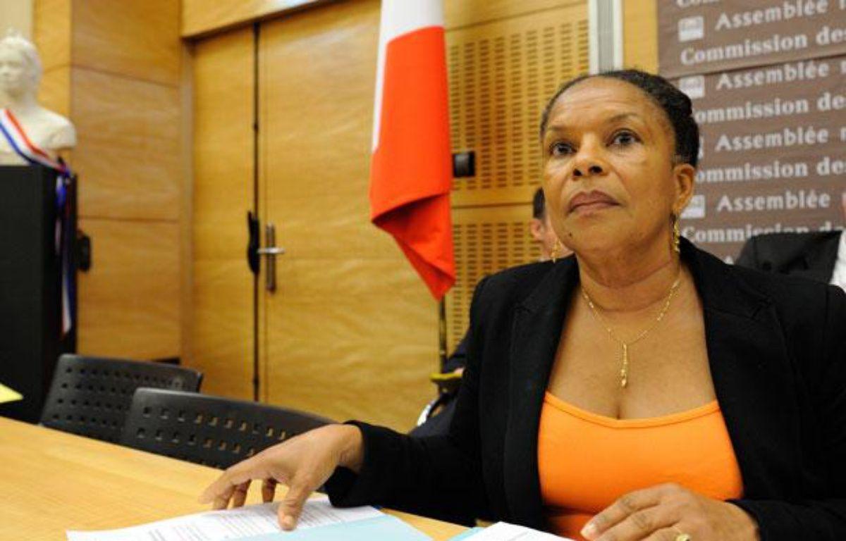 Christiane Taubira à Paris, le 17 juillet 2012. – WITT/SIPA