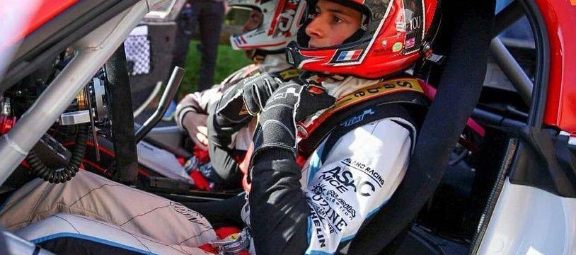 Le pilote niçois Nicolas Ciamin.