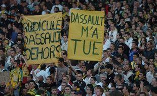 Serge Dassault a beaucoup été contesté pendant ses années au FCN.