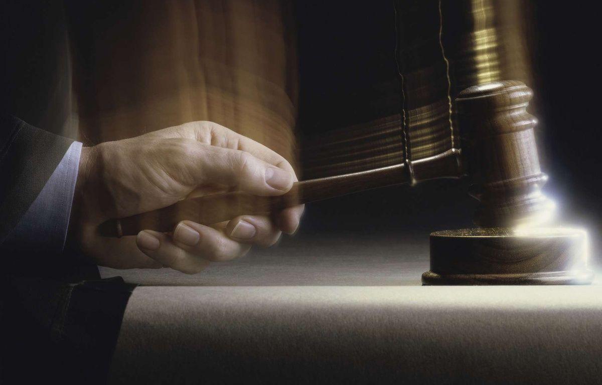Le marteau de la justice. Illustration. – PureStock - Sipa