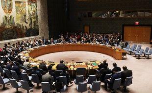 Réunion le 12 mars 2018 du Conseil de sécurité à l'ONU sur la situation en Syrie.