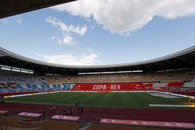 Le stade de La Cartuja, à Séville, pourrait finalement accueillir des matchs de l'Euro 2021.