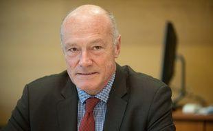 Portrait du président de la région Aquitaine, Alain Rousset. Photo : Sebastien Ortola