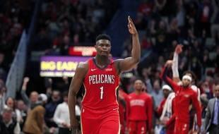 Zion Williamson a impressionné pour ses débuts en NBA.