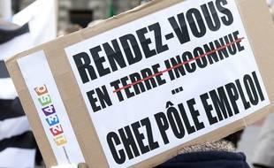Pancarte d'un manifestant le 7 novembre 2013