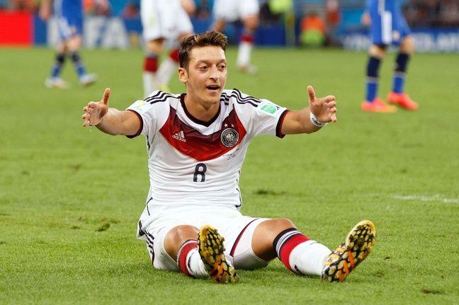 Mesut Ozil lors de la finale de la coupe du monde Allemagne-Argentine, le 13 juillet 2014.