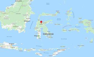Indonésie sur Maps