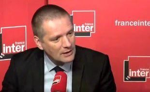 Guillaume Poupard, ce matin, sur France Inter