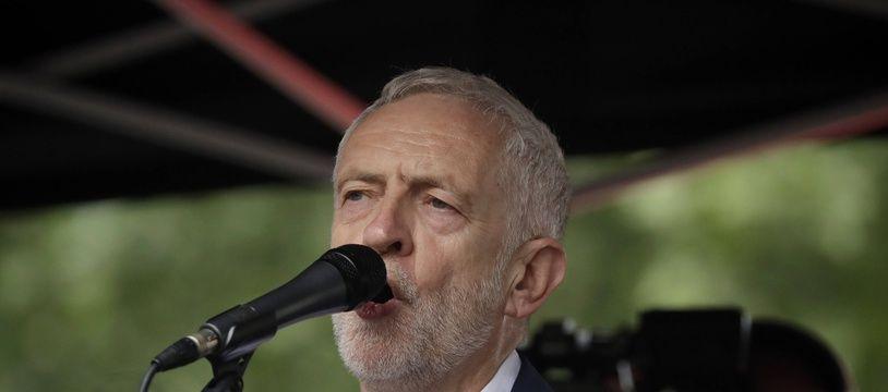 Jeremy Corbyn à Londres, le 4 juin 2019.