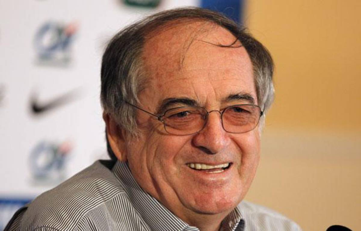 Noël Le Graët, le président de Fédération française de football, le 13 juin 2012, à Donetsk. – REUTERS/Charles Platiau