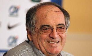 Noël Le Graët, le président de Fédération française de football, le 13 juin 2012, à Donetsk.