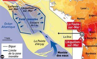 La Faute-sur-Mer, un secteur très touché par la tempête Xynthia.