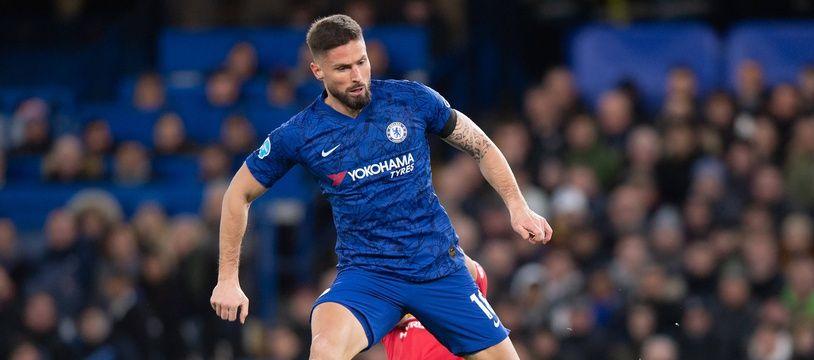 Olivier Giroud a retrouvé le terrain avec Chelsea.
