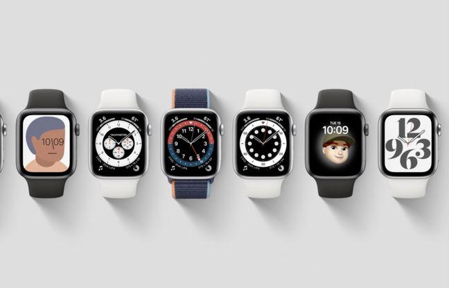 L'Apple Watch Serie 6 propose de nouveaux fonds d'écran.