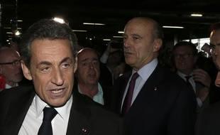 Nicolas Sarkozy à Bordeaux le 22 novembre 2014.