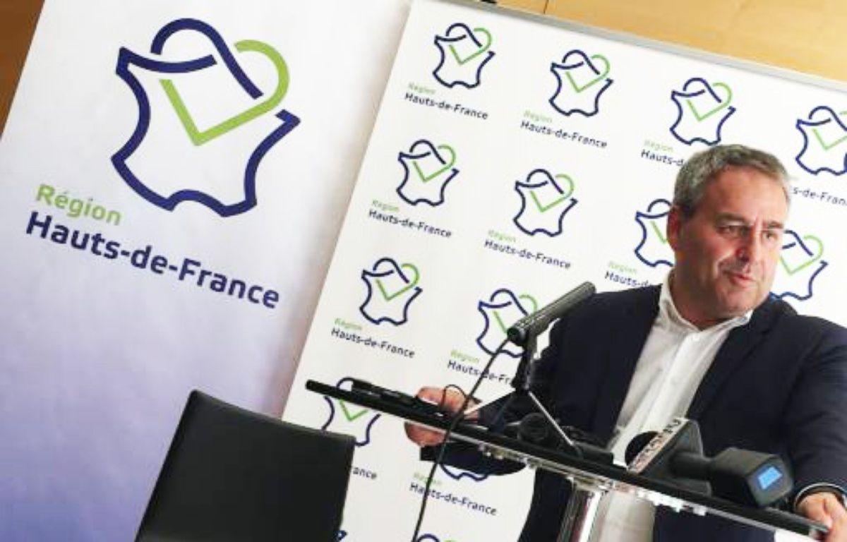 Xavier Bertrand, à la tête du conseil régional Hauts-de-France.  – O. Aballain / 20 Minutes