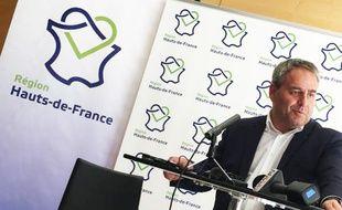 Xavier Bertrand, à la tête du conseil régional Hauts-de-France.