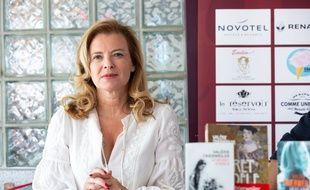 Valerie Trierweiler, au Festival des livres de Marseille en 2018.