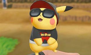 Selon la version du jeu (Pikachu ou Evoli) l'un ou l'autre de ces deux Pokémon vous accompagnera.