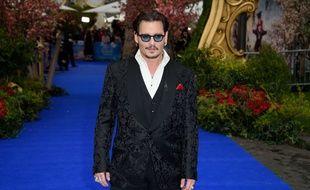 Johnny Depp à Londres en mai 2016.