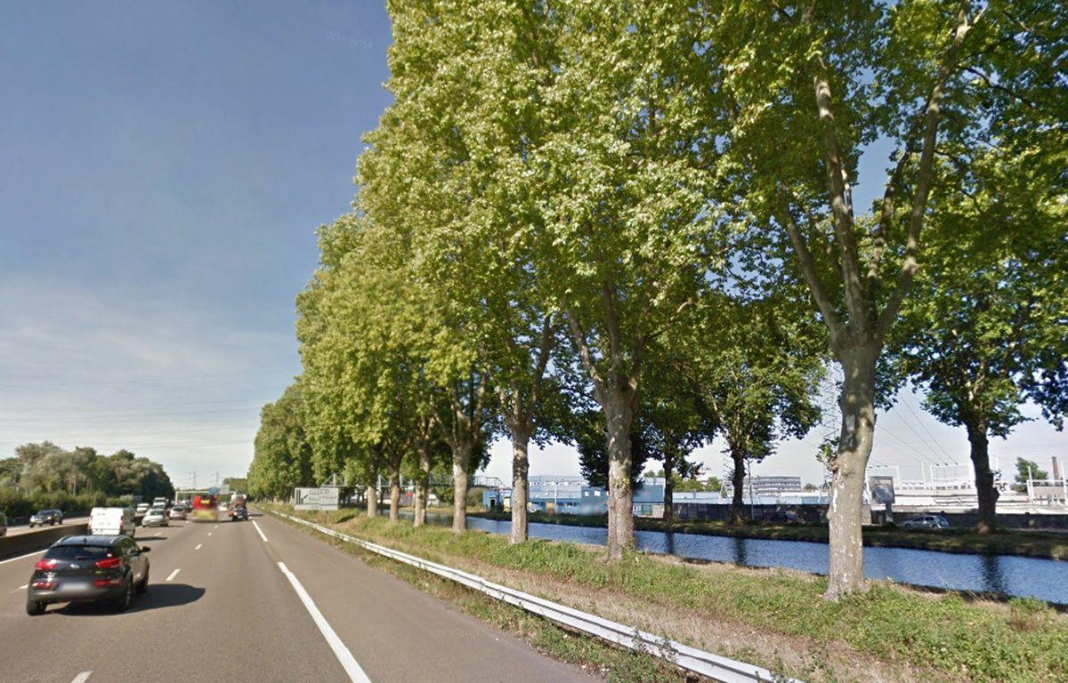 L'A35, à Strasbourg. – Google Maps