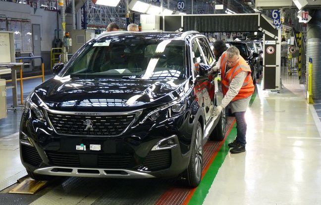 La construction de la nouvelle 5008 a déjà démarré à l'usine PSA de La Janais.