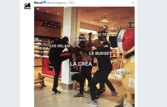 Une photo prise lors de la bagarre entre Booba et Kaaris devient un mème, même pour les marques.