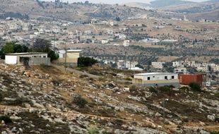Le village de Beit Awwa, en Cisjordanie, le 16 mai 2013.